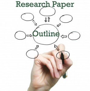 purpose of a research paper outline